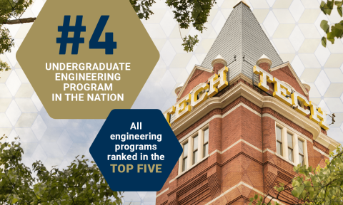 2022 Rankings Place Undergrad Engineering 4th in Nation